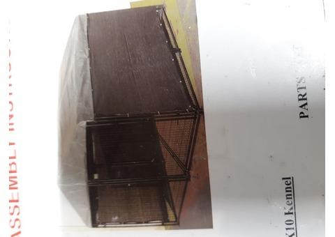 AKC dog kennel